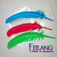 OEM turkey feather artificial feather bird bird feather for sale