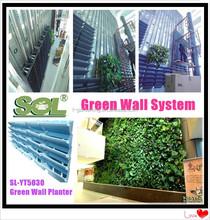 Verticale parete verde modulare fioriera verticale, fiore muro