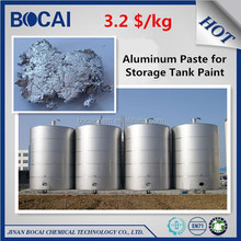 silver metallic aluminium pigment leafing aluminium paste for anticorrosive coating paint