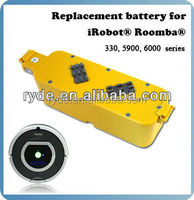 14.4V Replacement battery for automatic vacuum cleaner