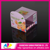 OEM High Quality UV Printing Promotional Clear PVC Hanging Label