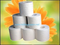 Ultra soft bathroom tissue paper roll