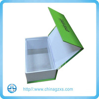 China manufacturer custom printed paper packaging gift box with lamination