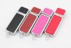 Leather USB Flash Drive 4GB 8GB 16GB 32GB 64GB Pendrive USB Memory USB Stick disk on key customized logo