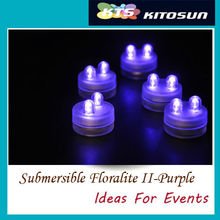 Frozen Party Decoration Mini Submersible Led Lights For Cake Decoration