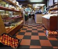 elastic laminate flooring rubber