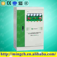 Three phase 200KVA 380V full automatic compensated avr voltage stabilizer servo motor type
