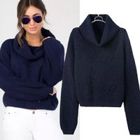MS66598W 2015 solid color women fashion name brand sweaters