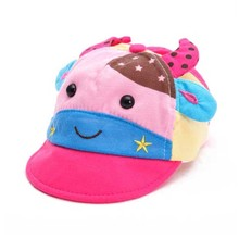 Kids Cute Baby Cap Baseball Hat Color Matching Cow pattern adjustable for 3-18 months