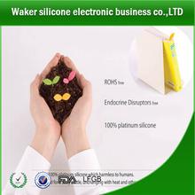 Silicone foglia segnalibro/magnete segnalibro/pratico segnalibro di silicone