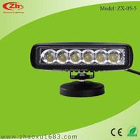 LED Light Bar Off Road JEEP SUV ATV 4WD 4X4 Truck 18W LED work bar light