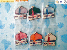 cotton paper air fresheners for car with different designs