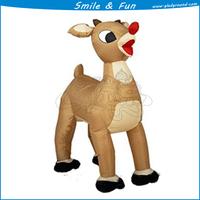 Inflatable mascot costume 2.5m high type chiristmas aniaml for mascot costume