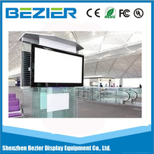 55 Inch wall mounted android advertising player/tv/digital signage media display with wifi/3G for shop