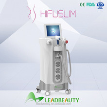 Chinese beauty device manufacture High Intensity Focused Ultrasound shape & slim machine