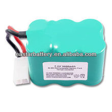 nimh cells 7.2 volt 3 amp battery pack low self discharge