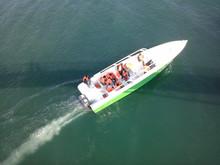 37 ft fiberglass open high speed passenger ferry boat