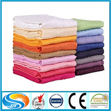wholesale hotel supply dye print cotton fabric for bed linen,bed sheet set home textile
