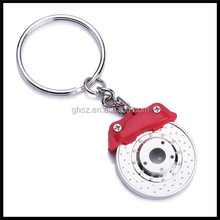 Custom Low Moq Metal 3D Keychain With Key Ring