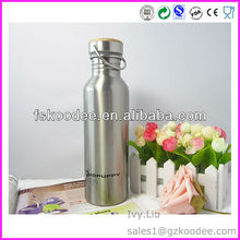 100% BPA free stainless steel bottle stainless steel drink bottle with bamboo lid