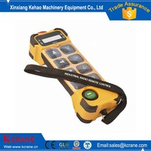 single/ double speed industrial radio remote control for crane