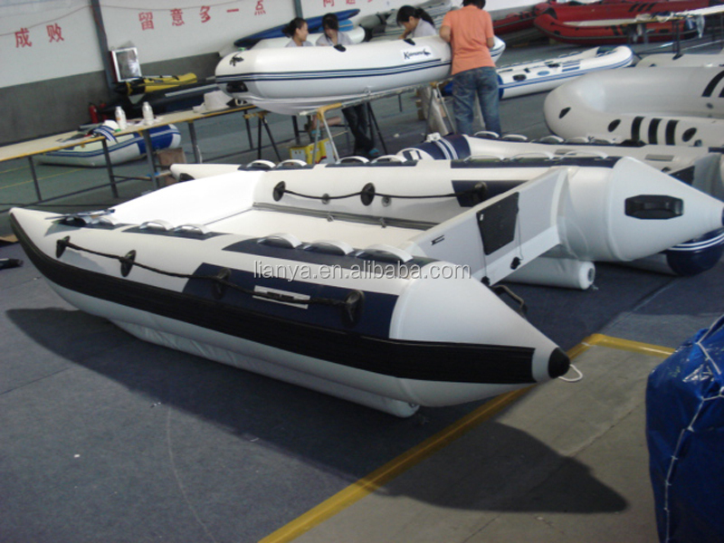 Liya Best High Speed Inflatable Boat Inflatable Catamaran ...