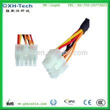 La costumbre del mazo de cables de tono 3.0mm arnés