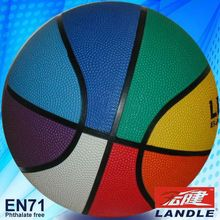official size new style rubber made top 10 basketball