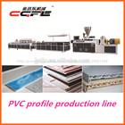 pvc porta do painel de linha de produção