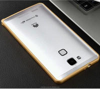 New products arc silm aluminum metal bumper case for Huawei Ascend Mate7