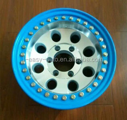 Genuine beadlock 4x4 alloy wheel for all off-road Vehicles