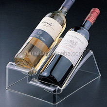 Acrylic wine holder rack OEM ODM non alcoholic grape wine