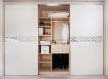 high quality MDF, MFC ,OAK bedroom sliding wardrobe design