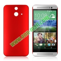 Pure Color Rubberized Coating Hard Plastic Case for HTC One E8 Ace