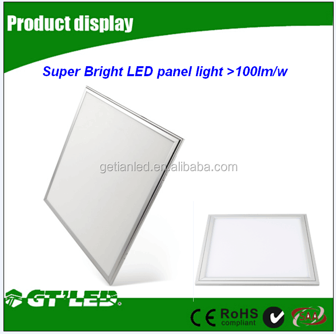 led recessed ceiling light led panel light 36w 3650lm