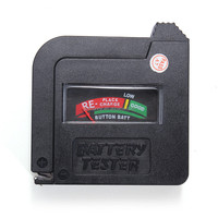 Best Price NEW BT-860 Universal Battery Volt Tester Regular or Rechargeable AA AAA C D Batteries 9V Batteries 1.5V Button Cell