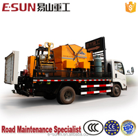 ESUN CLYB-CYL1000 1m3 integrated emulsion spray system asphalt recycling plant