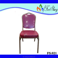 FACTORY PROMOTION PRICE FANSHENG RESTAURANT FURNITURE BANQUET RED DOT CHAIR HOME SPECIFIC USE RESTAURANT CHAIR
