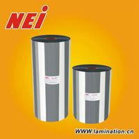 21micron Metaized Silver hot laminating film thermal laminating film xx