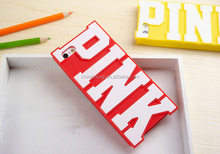 Luxury Victoria/'s Secret Candy Color PINK Soft Silicone Cover Case for iPhone 6 Silicone Case