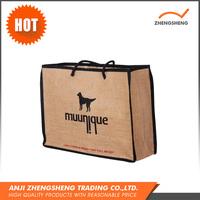High Quality Promotional 100% Jute Fabric Bag Sofa Fabric