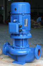 Single Suction Vertical Inline centrifugal submersible pump in plants
