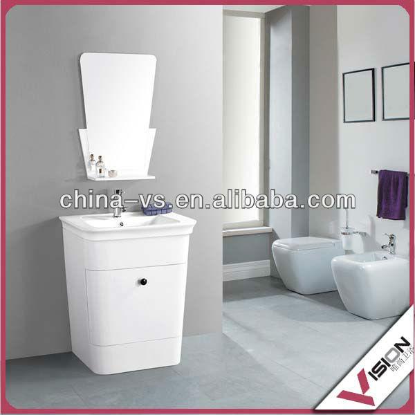 badezimmerboden schrank mit edelstahl w schekorb kabinett des badezimmers produkt id 1230273245. Black Bedroom Furniture Sets. Home Design Ideas