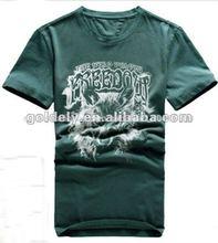 La publicidad de la camisa t, la promoción de la camisa t, baratos t camisa de proveedor de china
