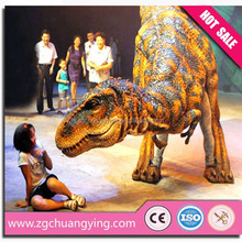 low cost good quality realistic walking with dinosaur costume