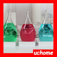 UCHOME NEW DESIGN For Christmas Gift Weather Forecast Bottle Storms Drops Hourglass Bottle
