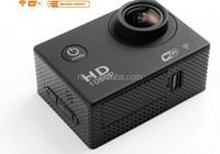 Wireless 30m waterproof 12mp 1080P full hd mini wifi sport camera video camcorder 1.5LTPS remote control 32GB Micro SD card