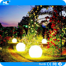 Home garden swimming pool flashing led ball / led bowling ball / Rgb led balls