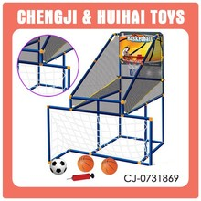 2 in 1 ball set child basketball stand