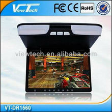 touch osd key roof mount tv dvd players, USB/SD Slots / Speakers, Factory in Shenzhen